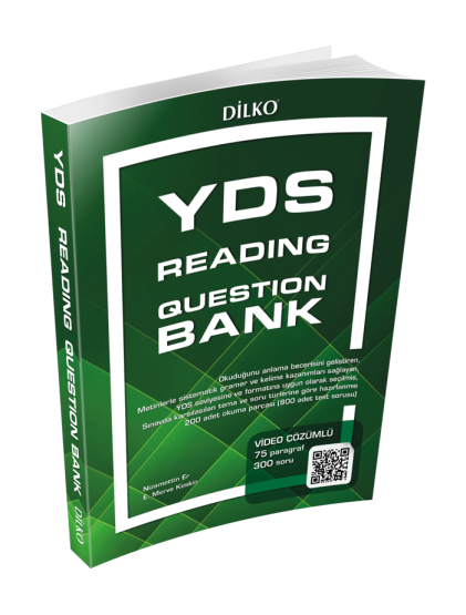 YDS Reading Question Bank
